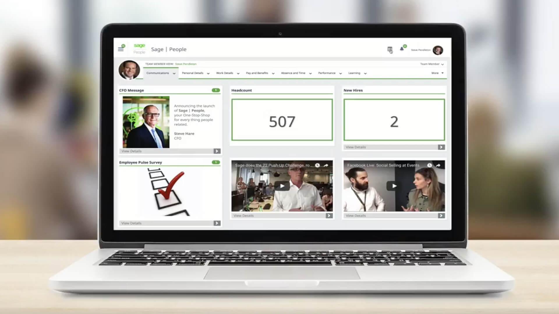 Global cloud HR platform