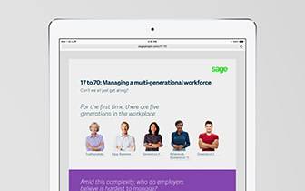 17-70: Managing a multi-generational workforce