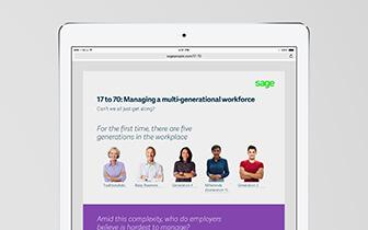 17-70: Managing a multi-generational workforce